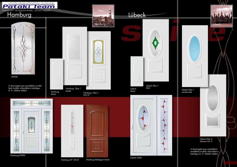 műanyag nyílászárók bejárati ajtók és díszpanelek